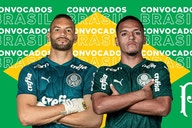 Brasil convoca Weverton e Menino, que desfalcam Palmeiras no Brasileirão e Copa do Brasil
