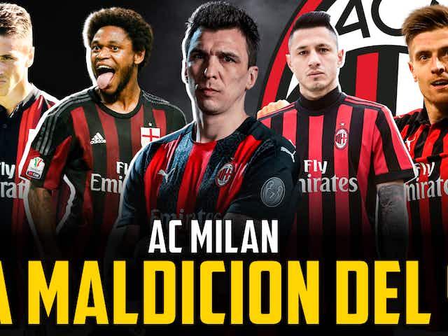 La maldición del 9 del AC Milan