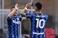 A Inter reapareceu em campo como campeã e coroou o momento ao golear a Sampdoria