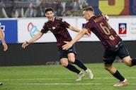 Depois de se tornar o mais jovem a disputar uma Eurocopa, Kozlowski voltou à Polônia marcando um golaço em seu primeiro lance