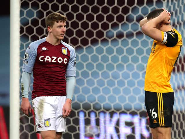 Woodwork does wonders as Villa and Wolves draw at Villa Park