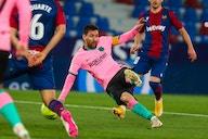 Messi convirtió, pero Levante se lo empató a Barcelona y lo privó de la punta