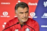 Christophe Galtier en conférence de presse ce vendredi avant Lille – Saint-Étienne