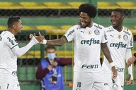 Rony destaca vitória do Palmeiras na Libertadores e exalta Luiz Adriano: 'Meu irmãozão'