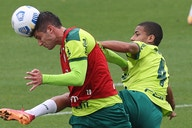 Com Menino e Kuscevic, Palmeiras treina após eliminação