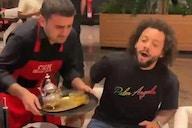 La grosse frayeur de Marcelo dans un restaurant à Dubaï