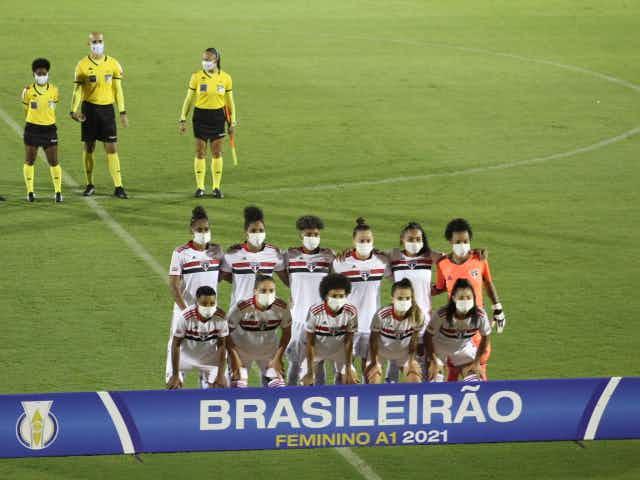 São Paulo abre placar, mas sofre gol e empata na estreia do Brasileirão Feminino 2021