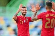 Portugal fechou a preparação à Eurocopa com goleada sobre Israel e uma pintura de Bruno Fernandes