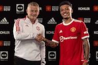 """Sancho é finalmente oficializado e usará a camisa 25 do Manchester United: """"Sonho realizado"""""""
