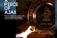 Mirá lo que hizo Ajax con el trofeo de campeón de Países Bajos