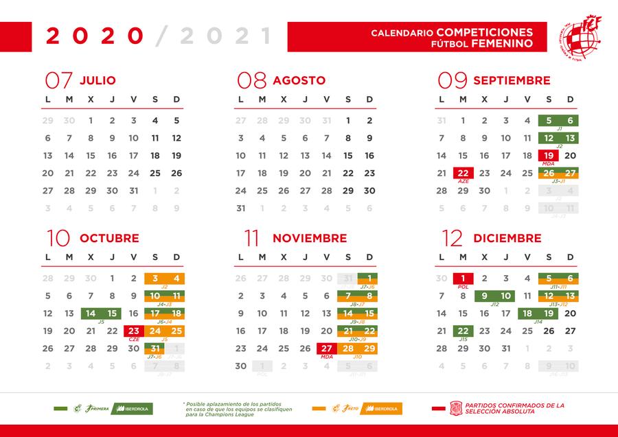 Oficial! Ya hay calendario de la Liga 2020/2021   OneFootball