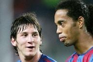 Ronaldinho habló del futuro de Messi en el Barcelona