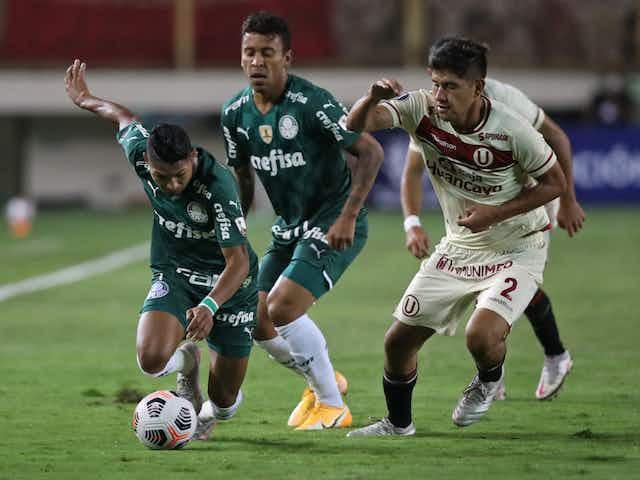 Ficha técnica: Universitario 2×3 Palmeiras