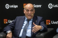 """Tebas : """"En tant que président de la Liga, je ne sais pas s'il y avait main de Militao"""""""