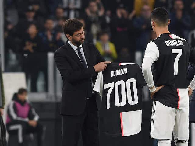 Agnelli: «No me arrepiento de fichar a Cristiano Ronaldo»