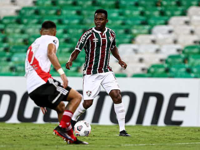 O Fluminense começou com dificuldades, mas ao menos buscou o empate com o River no Maracanã
