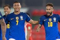 Neymar liderou a vitória tranquila e sem tanto brilho em Assunção que manteve o 100% de aproveitamento do Brasil