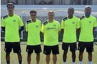 Los cuatro jugadores de Emiratos Árabes ya están en Vallecas entrenando con el Rayo B