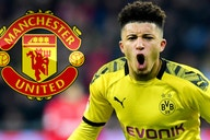 """Jadon Sancho in Manchester United kit pictures look """"so right"""", according to fan"""