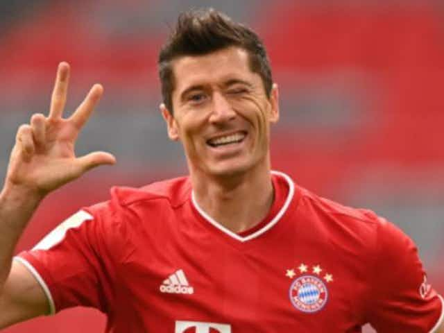 Lewandowski way out in front in the 2020/21 Golden Shoe race but the big guns are gaining ground