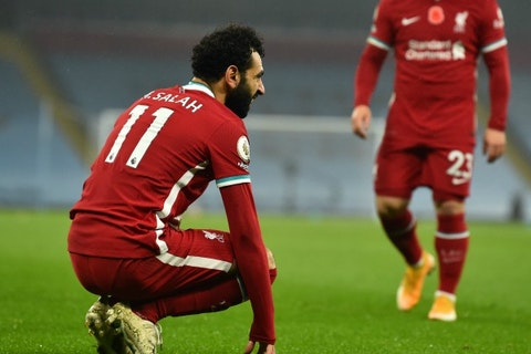 mohamed salah out of liverpool vs leicester city clash after second coronavirus test onefootball liverpool vs leicester city clash after