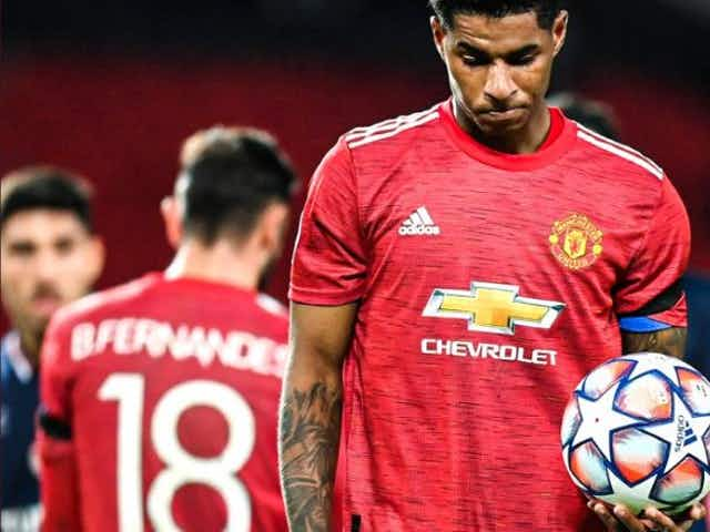 (Photo) Man United star Marcus Rashford makes his feelings on European Super League clear