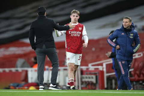 Article image: https://image-service.onefootball.com/crop/face?h=810&image=https%3A%2F%2Ficdn.caughtoffside.com%2Fwp-content%2Fuploads%2F2021%2F01%2FMikel-Arteta-and-Emile-Smith-Rowe.jpg&q=25&w=1080