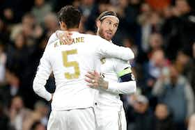Article image: https://image-service.onefootball.com/crop/face?h=810&image=https%3A%2F%2Ficdn.caughtoffside.com%2Fwp-content%2Fuploads%2F2021%2F02%2FSergio-Ramos-and-Raphael-Varane-for-Real-Madrid.jpg&q=25&w=1080