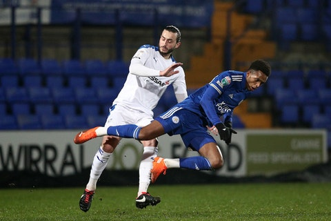 Article image: https://image-service.onefootball.com/crop/face?h=810&image=https%3A%2F%2Ficdn.caughtoffside.com%2Fwp-content%2Fuploads%2F2021%2F02%2Ftranmere-rovers-v-leicester-city-u21-papa-johns-trophy.jpg&q=25&w=1080