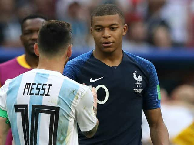 Lionel Messi proves Barcelona allegiance remains intact by taking parting swipe at old foes Real Madrid over Kylian Mbappe