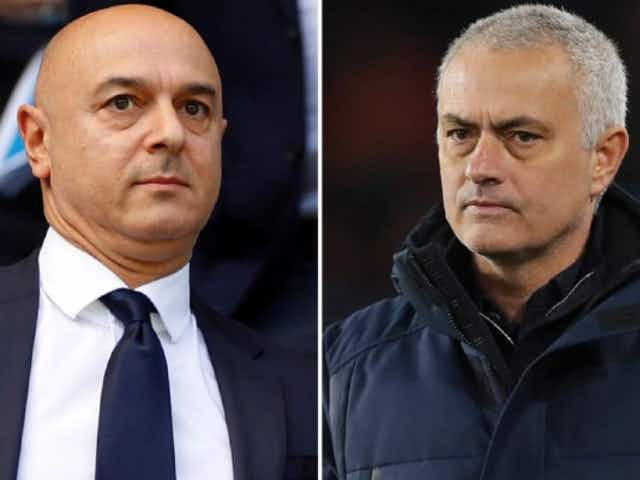 The Carabao Cup final row with Daniel Levy that led to Jose Mourinho's sacking