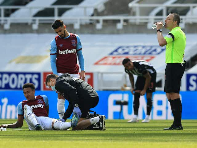 David Moyes on whether injury to Man United star Jesse Lingard is 'serious' in initial update after West Ham defeat