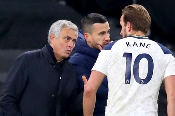 Article image: https://image-service.onefootball.com/crop/face?h=810&image=https%3A%2F%2Ficdn.caughtoffside.com%2Fwp-content%2Fuploads%2F2021%2F04%2FMourinho-Kane-Spurs-FC.jpg&q=25&w=1080