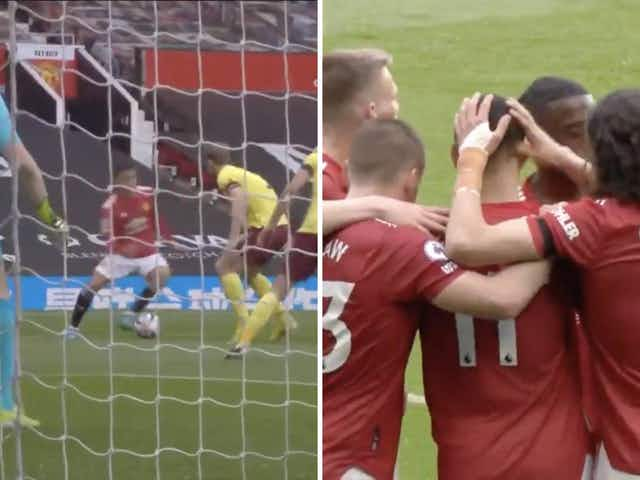 Video: Mason Greenwood makes the difference for Man United after finding bottom corner via deflection