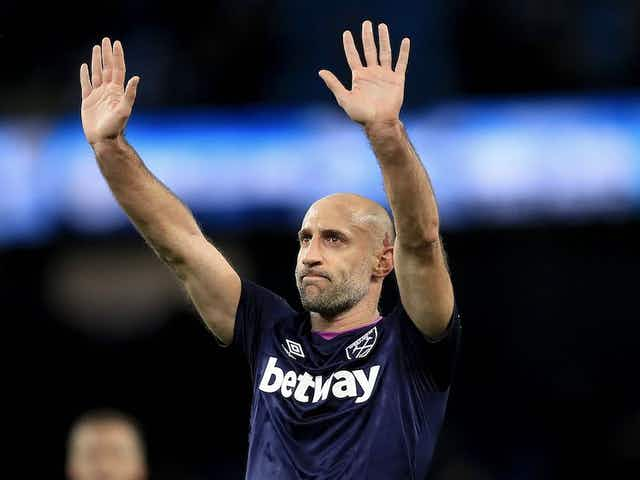 Former West Ham star admits he could persuade Man City legend to join Hammers