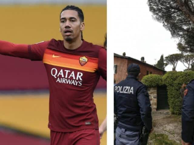 Roma's Chris Smalling held at gunpoint during shock robbery as new details emerge