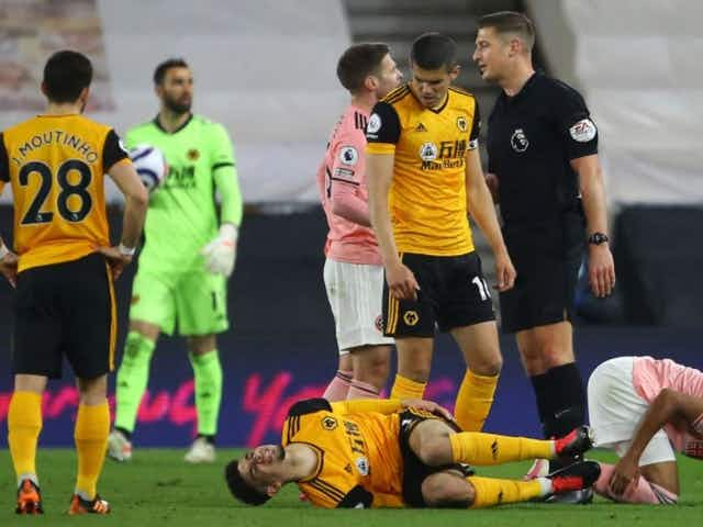 Mark Halsey column: Ref missed potential leg-breaker in Wolves vs Sheffield United while Fulham penalty at Arsenal was lucky