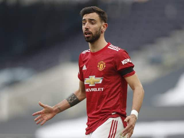 Manchester United star Bruno Fernandes aims dig at his own club over Super League move