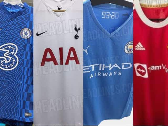 (Photos) Man United, Liverpool Chelsea – all the leaked 2021/22 Premier League kits so far