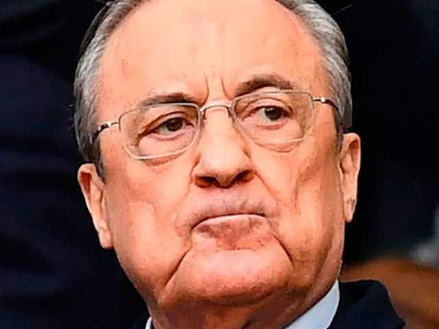 Real Madrid President Florentino Perez proposes an even more extreme ESL alteration as he seeks to destroy football