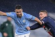 Riyad Mahrez hints at Champions League prediction as Manchester City look to make history