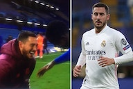 Eden Hazard issues apology to Real Madrid fans after laughing and joking with Chelsea players following Champions League exit