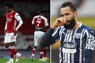 """Arsenal exposed as serial bottlers by now relegated West Brom ace who predicts Gunners will """"s**t themselves"""""""