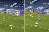 Video: Arsenal lead Chelsea after calamitous Jorginho back pass is superbly saved by Kepa only to gift Smith Rowe goal