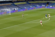 Video: Kai Havertz squanders golden 1-on-1 opportunity to give Chelsea the lead over Arsenal
