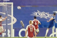 Video: Chelsea rattle crossbar twice within seconds as Olivier Giroud misses a sitter vs former side Arsenal
