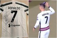 (Photo) – Cristiano Ronaldo sends signed shirt to sick child after star's thrown armband was auctioned off following Portugal vs Serbia outburst