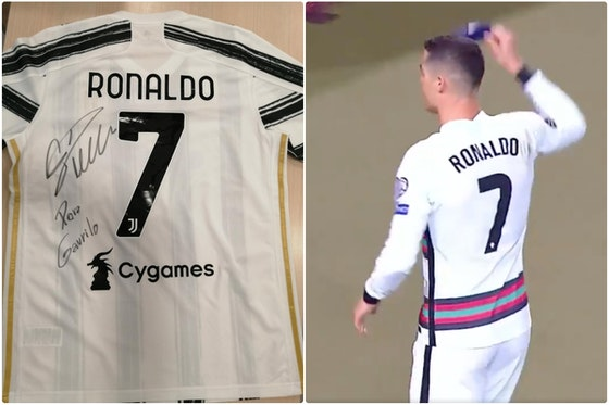 Article image: https://image-service.onefootball.com/crop/face?h=810&image=https%3A%2F%2Ficdn.caughtoffside.com%2Fwp-content%2Fuploads%2F2021%2F05%2FRonaldo-sends-signed-shirt-to-sick-child-after-thrown-armband-is-auctioned-off-for-charity.jpg&q=25&w=1080