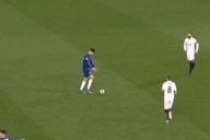 Video: Chelsea star Kai Havertz trolled Sergio Ramos and Toni Kroos with hilarious time-wasting tactic to pile on Real Madrid misery