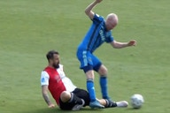 Video: Lucas Pratto suffers potentially career-ending fractured ankle injury in sad moment for Feyenoord and River Plate star vs Ajax